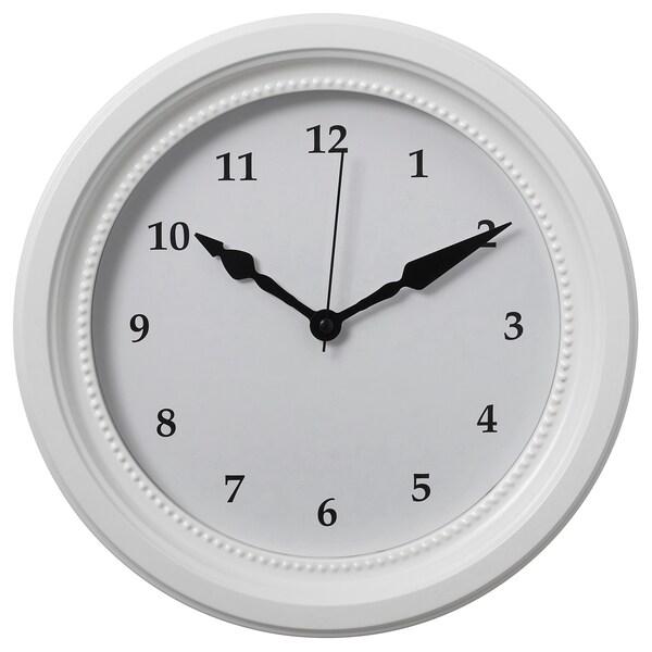 SÖNDRUM Wall clock, white