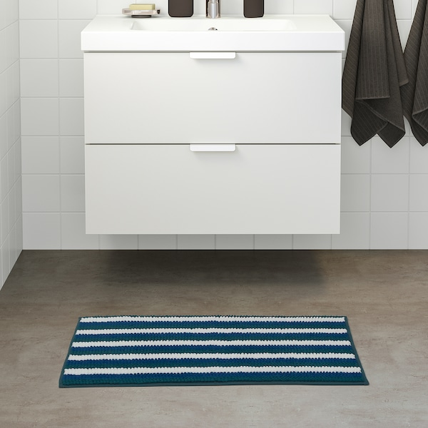 TOFTBO Bath mat, multicolour, 50x80 cm