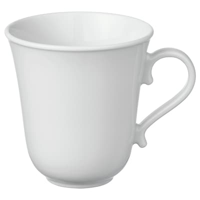 UPPLAGA Mug, white, 35 cl