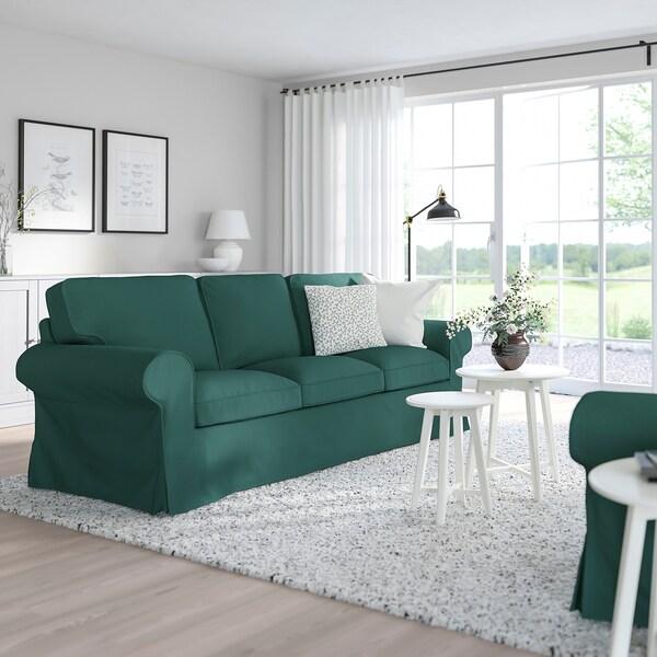 UPPLAND 3-seat sofa, Totebo dark turquoise