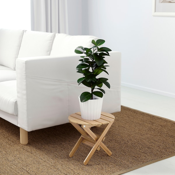VILDAPEL Plant stand, bamboo, 29 cm