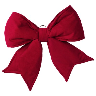 VINTER 2020 Bow, red, 46x41 cm
