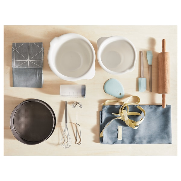 VISPAD Mixing bowl, set of 2, white