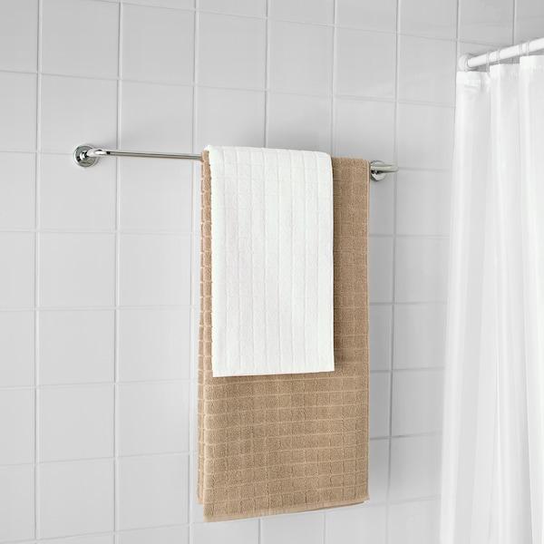 VOXNAN Towel rail, chrome effect, 67 cm