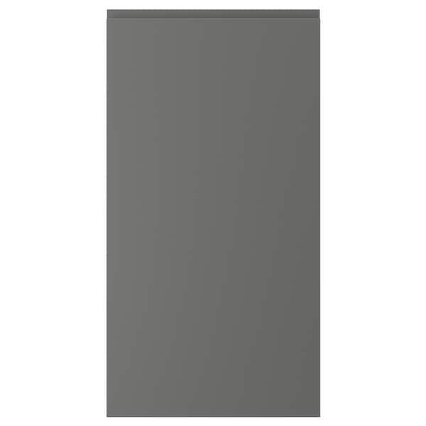 VOXTORP Door, dark grey, 53x102 cm