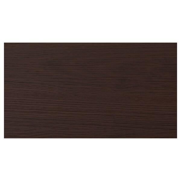 ASKERSUND Frente de cajón, café oscuro laminado efecto fresno, 46x25 cm