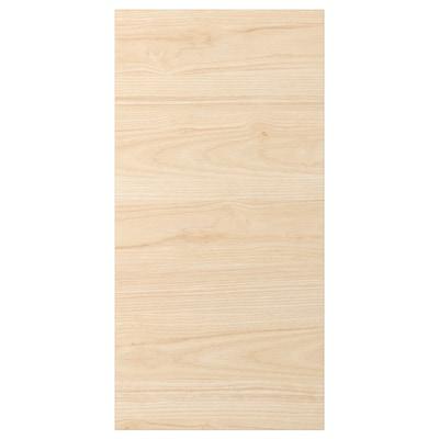 ASKERSUND Puerta, efecto fresno claro, 38x76 cm