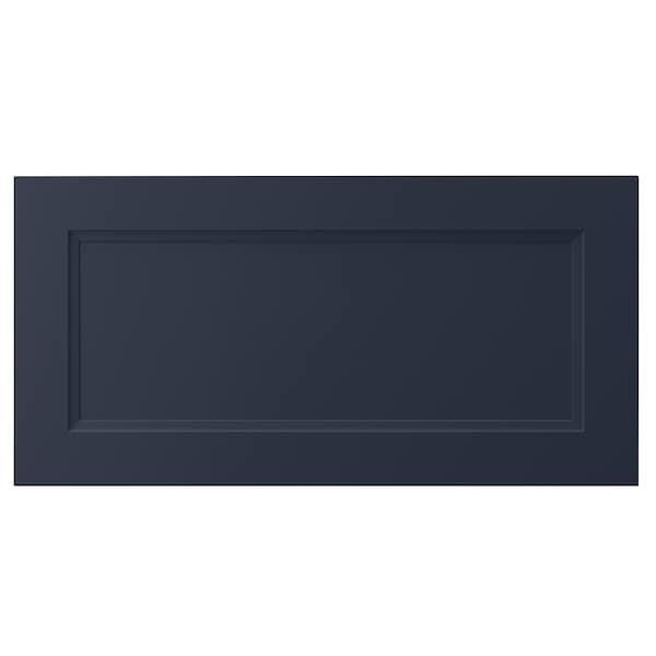 AXSTAD Frente de cajón, mate azul, 76x38 cm