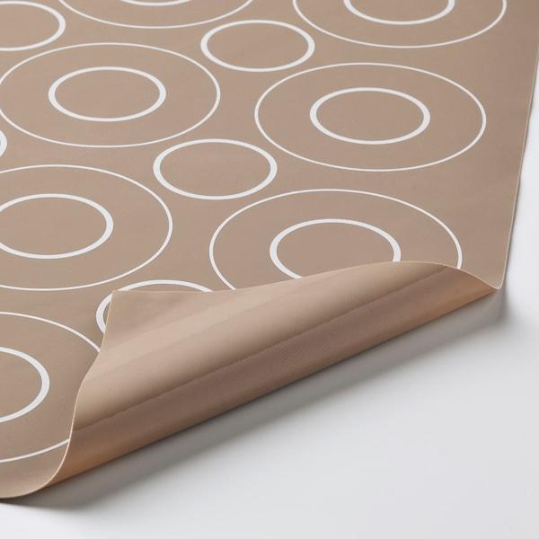 BAKTRADITION Tapete par hornear, beige, 41x31 cm