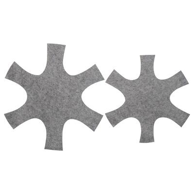 BEDÖMA Protector de  olla juego de 2, gris