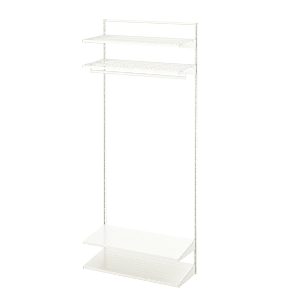 BOAXEL 1 sección, blanco, 82x40x201 cm