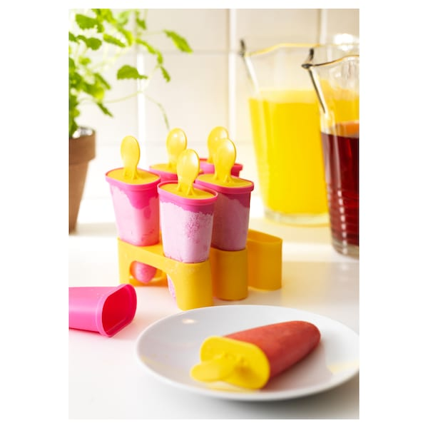 CHOSIGT Molde para paletas de hielo, varios colores