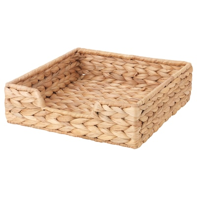 CISSAN Servilletero, jacinto de agua, 23x23 cm