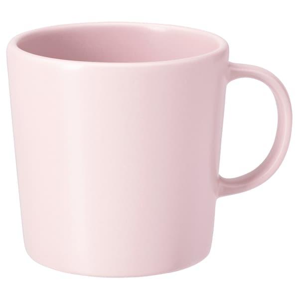 DINERA Taza, rosa claro, 30 cl