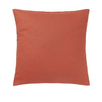 EBBATILDA Funda de cojín, rojo óxido, 50x50 cm