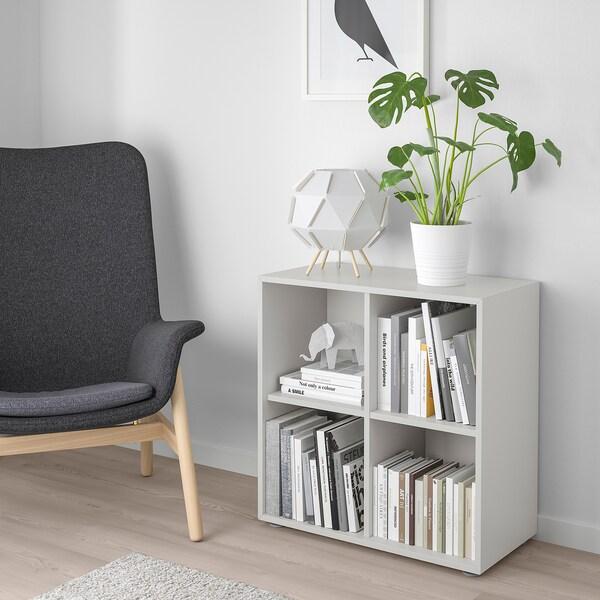 EKET Combinación de gabinete con patas, gris claro, 70x35x72 cm