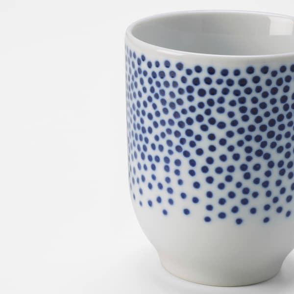 ENTUSIASM Taza, con diseño/azul, 22 cl