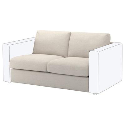 FINNALA Módulo de 2 asientos, Gunnared beige