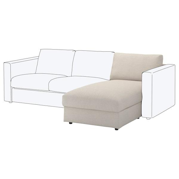 FINNALA Módulo de chaise-longue, Gunnared beige