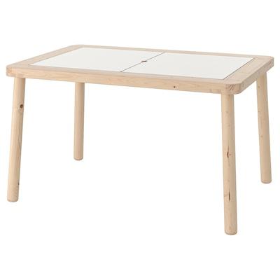 FLISAT Mesa para niños, 83x58 cm
