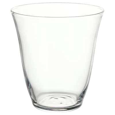 FRAMTRÄDA Vaso, vidrio incoloro, 28 cl
