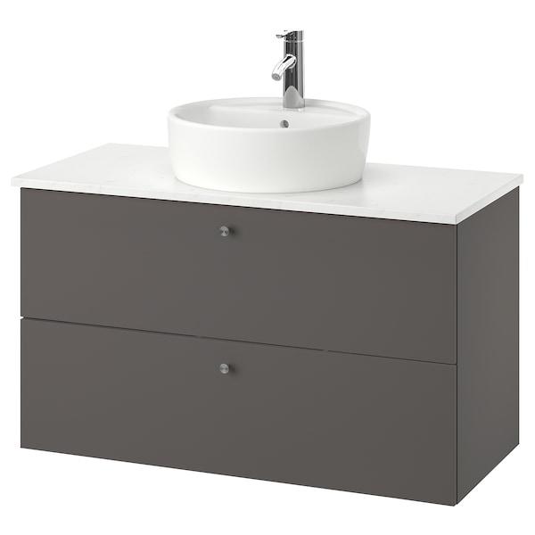 GODMORGON/TOLKEN / TÖRNVIKEN Mueble baño con cubierta y lavabo