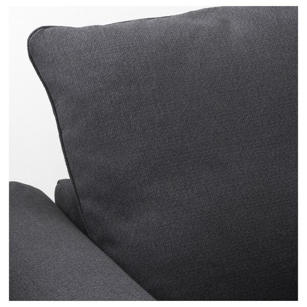 HÄRLANDA Chaiselongue, Sporda gris oscuro