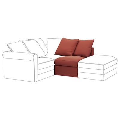 HÄRLANDA Módulo de 1 asiento, Ljungen rojo claro