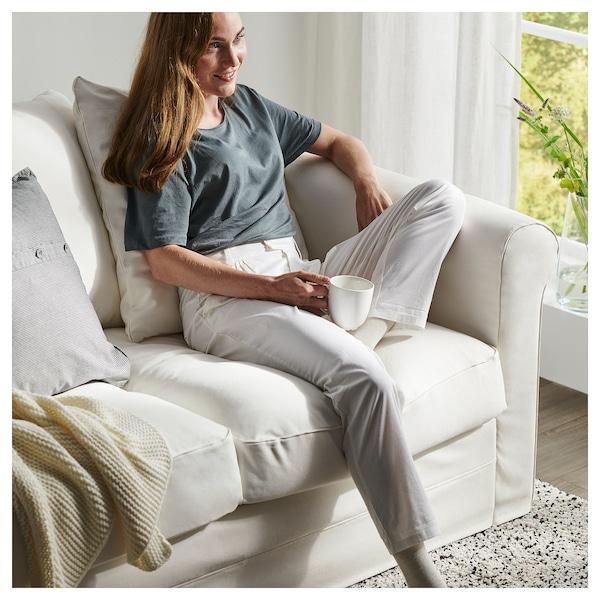 HÄRLANDA Sofá esquina 5 asientos, +chaiselongue/Inseros blanco