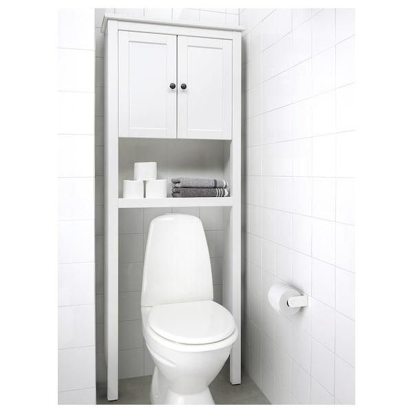HEMNES Estante de baño, blanco, 74x25x198 cm