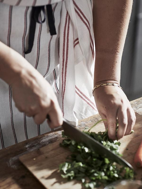 HILDEGUN Toalla de cocina, rojo, 45x60 cm