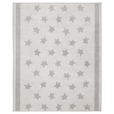 HIMMELSK Tapete, gris, 133x160 cm