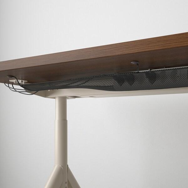 IDÅSEN Escritorio, café/beige, 160x80 cm