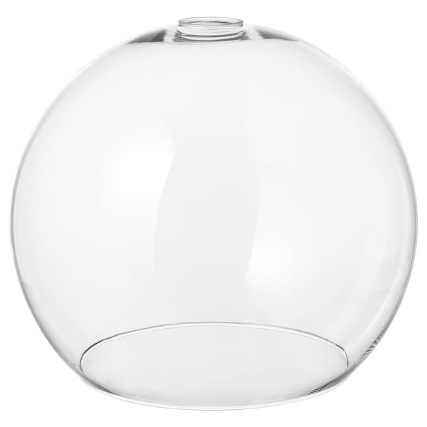 JAKOBSBYN Pantalla para lámpara de techo, vidrio incoloro, 30 cm