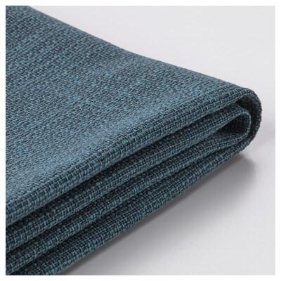 KIVIK Funda para sofá de 2 plazas, Hillared azul oscuro