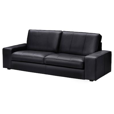 KIVIK Sofá 3 asientos, Grann/Bomstad negro