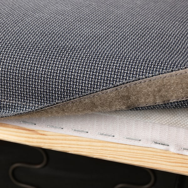 KLIPPAN Funda de 2 asientos, Kabusa gris oscuro
