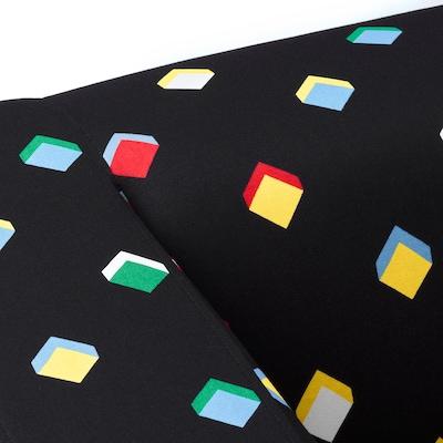 KLIPPAN Funda de 2 asientos, Rotebro multicolor
