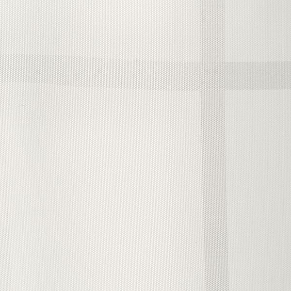 KLOCKAREN Cortina para regadera, hueso, 180x180 cm