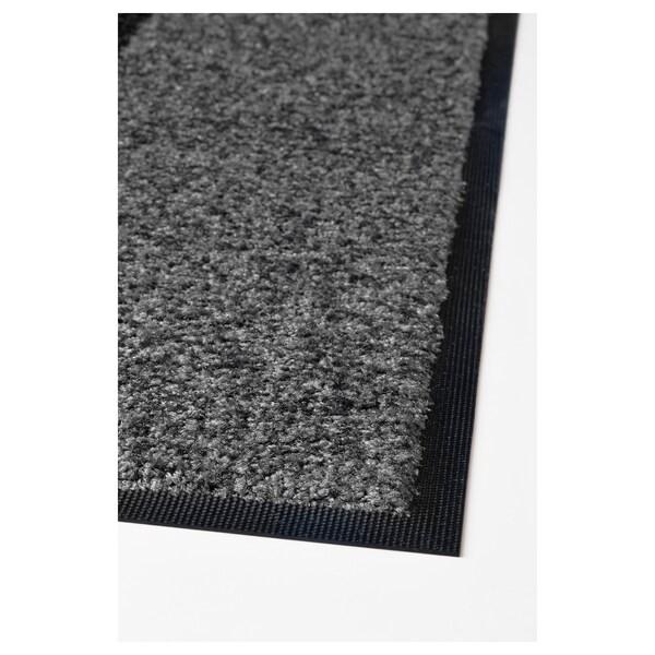 KÖGE Tapete, gris/negro, 69x90 cm