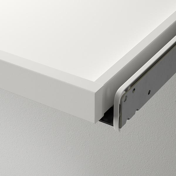 KOMPLEMENT Bandeja extraíble con divisor, blanco/gris claro, 100x35 cm
