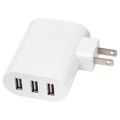 KOPPLA Cargador USB de 3 puertos, blanco