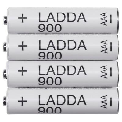 LADDA Batería recargable, HR03 AAA 1.2V