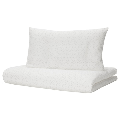 LEN Funda nórdica+funda almohada p/cuna, 110x125/35x55 cm