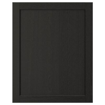 LERHYTTAN Puerta, tinte negro, 61x76 cm