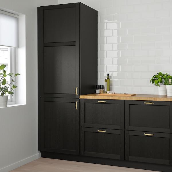LERHYTTAN Puerta, tinte negro, 61x102 cm