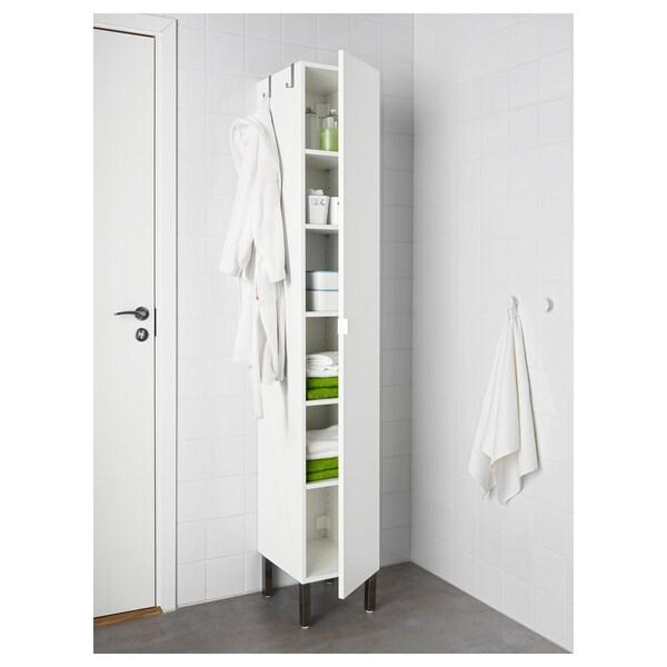 LILLÅNGEN Gabal 1 puerta, blanco, 30x38x194 cm