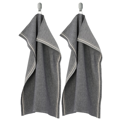 MARIATHERES Toalla de cocina, gris, 50x70 cm