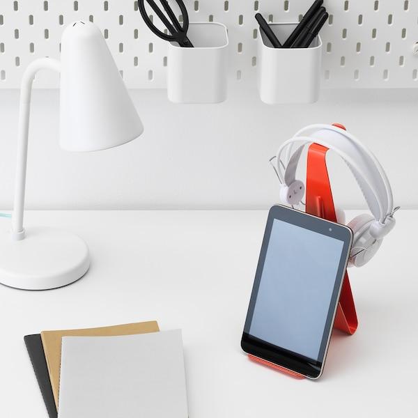 MÖJLIGHET Soporte tablet/audifonos, rojo