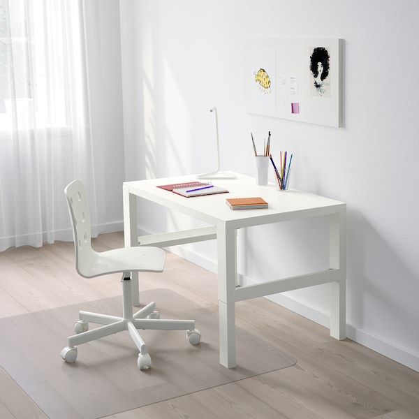 PÅHL Escritorio, blanco, 96x58 cm